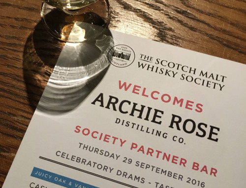 Archie Rose x SMWS: We have lift off!