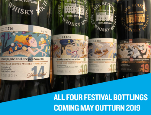 Whisky festival fever! All four casks are being released May 3rd 2019 for Outturn