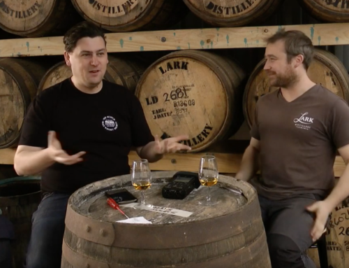 Matt Bailey interviews Jonnie Edwards, Lark Distillery